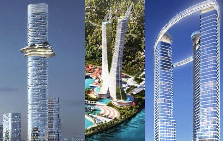 siêu phẩm tòa nhà chọc trời tại Việt Nam