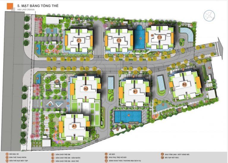 Thiết kế Dự án căn hộ Him Lam Oriana