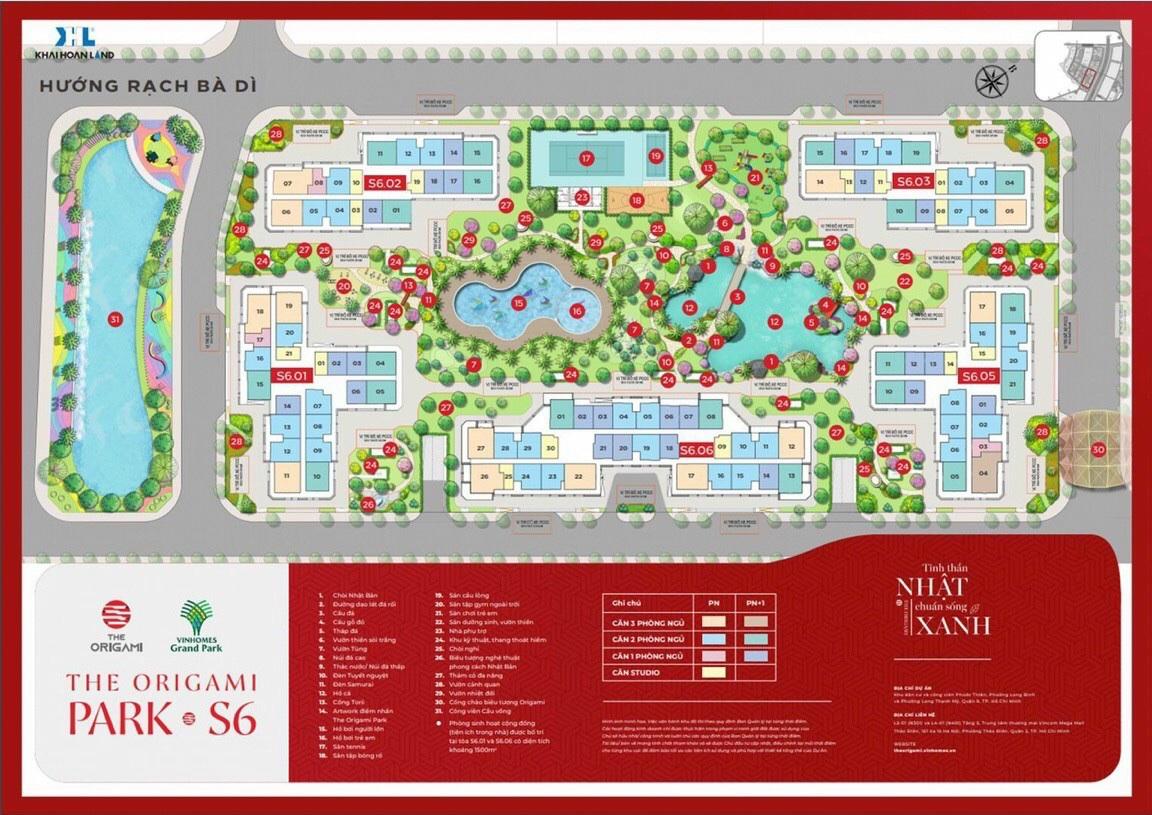 The Origami Park S6 - Vinhomes Quận 9