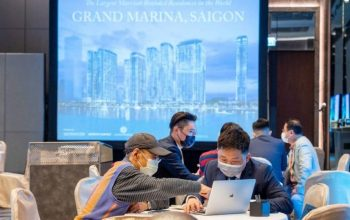 Grand Marina Saigon open for sale in international markets