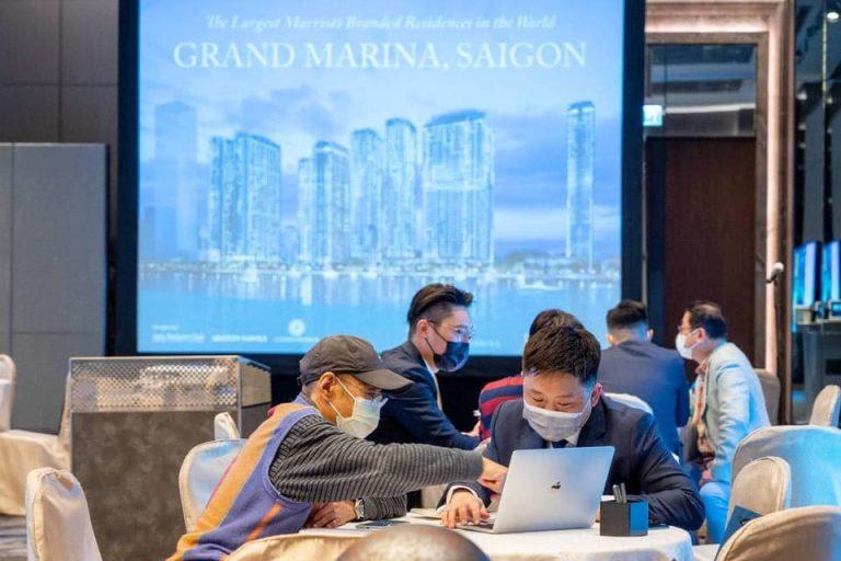 Grand Marina Saigon open for sale in international markets