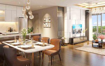 Bán căn hộ 3 phòng ngủ Eco Green Saigon. Chỉ với 1,5 tỷ vốn tự có