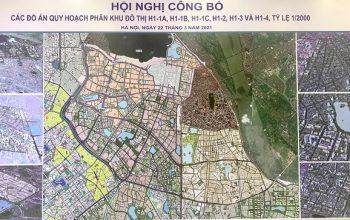 quy hoạch khu vực nội đô Hà Nội