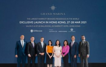 Họp báo ra mắt Grand Marina Saigon ra mắt thị trường Hồng Kông