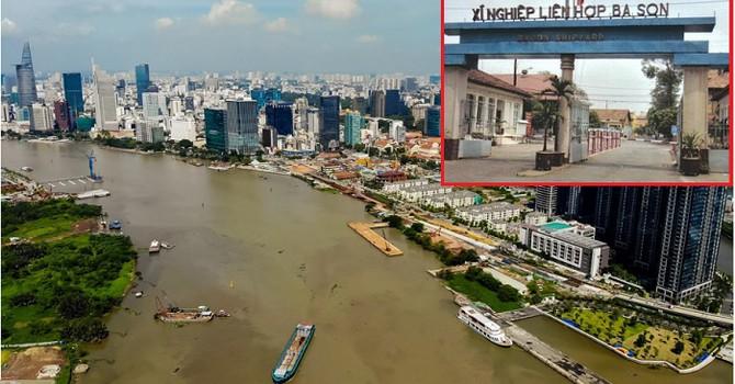 Pháp lý khu đất Ba Son - Sài Gòn