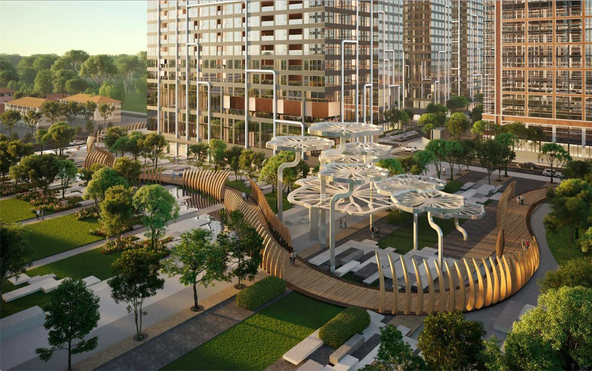 tiện ích khu căn hộ Grand Marina Saigon và dịch vụ Marriott Internationa