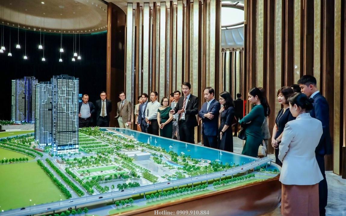 Nhà điều hành bán hàng dự án Grand Marina Saigon