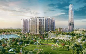 Tòa nhà thương mại - dịch vụ - văn phòng - khách sạn Hyatt Saigon 69 tầng tại khu căn hộ Eco Green Sài Gòn