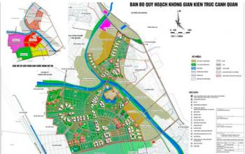 Bản đồ quy hoạch khu đô thị Vinhomes Đại An - Hưng Yên