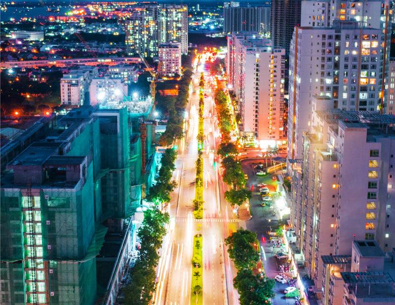 Nguyễn Lương Bằng - Trục đường thương mại tài chính KĐT Phú Mỹ Hưng