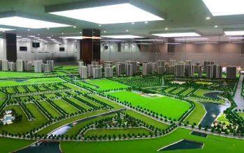 Sa bàn mô hình Vinhomes Grand Park