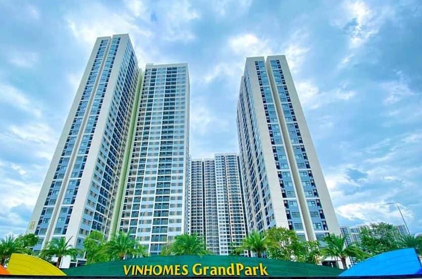 Ban quản lý Vinhomes Grand Park