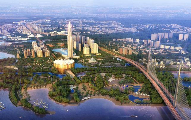 quy hoạch dự án khu cầu Tứ Liên, Đông Anh - Hà Nội