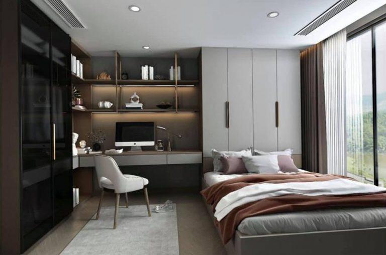 Nội thất phòng ngủ căn hộ The Beverly