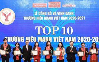 Vingroup - Top 10 thương hiệu Việt Nam